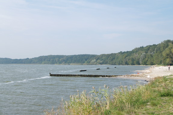 Badestrand in Kamminke