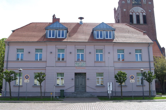 Rathaus in Usedom Stadt