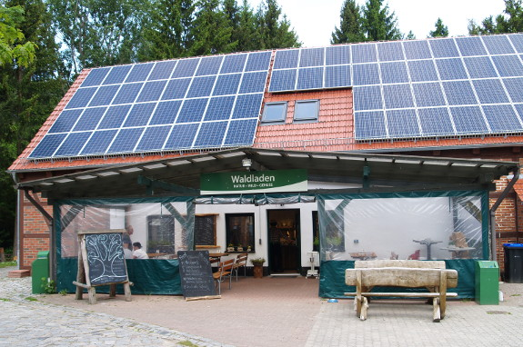 Waldladen & Wildbistro in Pudagla