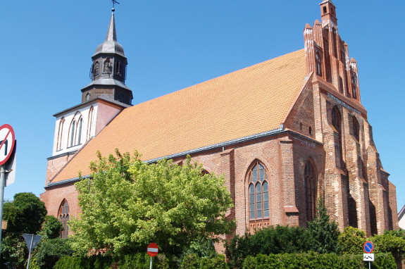 Nikolaikirche in Wolin